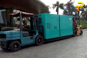 Sewa Genset di Citibank Building