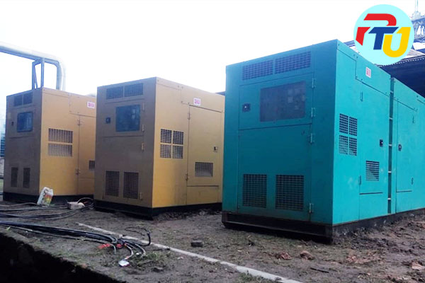 Project sewa genset industri
