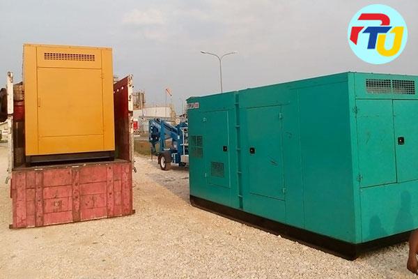 project sewa genset pabrik